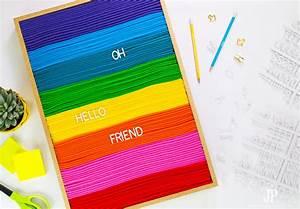 diy felt letter board smart fun diy With cheap felt letter board
