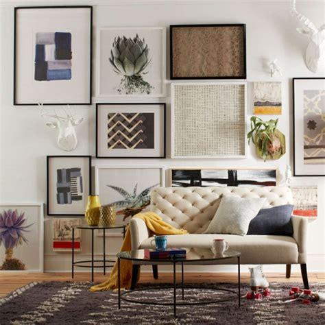 Wandgestaltung Ideen  Eine Wandgalerie Ist Ein Richtiger