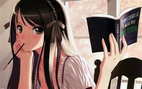 Anime Studying Wallpaper - studying wallpaper 1124571