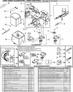 Fiberstars 6000    6004    6008 Series Lamp Assembly - Y206000