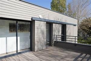 Ossature Bois Maison : maison d 39 architecte en ossature bois calvados gilbert ~ Melissatoandfro.com Idées de Décoration