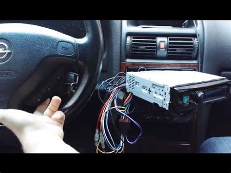 astra g sterowanie radiem z kierownicy piloty pl interfejs adapter alpine