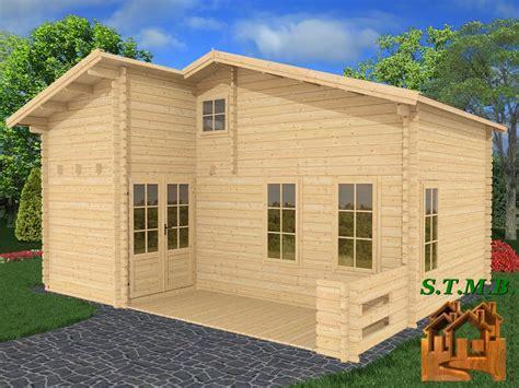 chalet de loisir habitable chalet bois habitable en kit mod 232 le orme 33 m2 avec mezzanine
