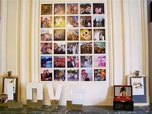 Mur De Photos : d corer un mur avec polagram mat 39 m le blog ~ Melissatoandfro.com Idées de Décoration