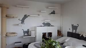 Ikea Lack Wandregal Befestigung : diy cat walk mit ikea lack interessantes f r katzenfreunde ~ Eleganceandgraceweddings.com Haus und Dekorationen