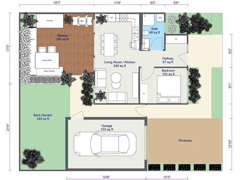 Garten Gestalten Grundriss by Grundst 252 Ck Garten Gestalten Roomsketcher