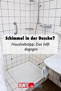 Schimmel Entfernen Bad : haushaltstipp schimmel in der dusche das hilft dagegen ~ Watch28wear.com Haus und Dekorationen