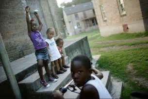 Black Children Poverty in the Us