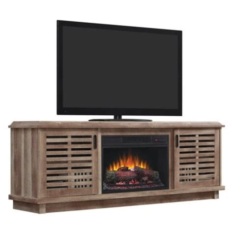 fireplace tv stand lowes electric fireplaces lowe39s canada tv stand with electric