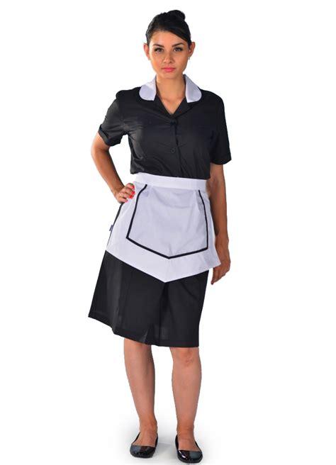 qualité femme de chambre blouse femme de chambre à manches courte carlton