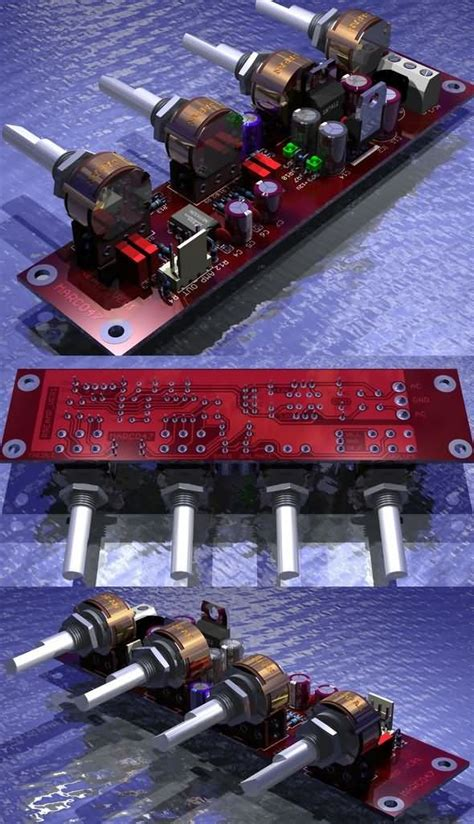 Tone Controled Preamplifier Circuit Amp