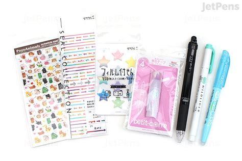 jetpens planner accessories pack