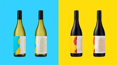 Wine Labels Versions Colorful Motherbird Wines Projects