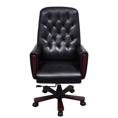 la boutique en ligne fauteuil de bureau chesterfield noir