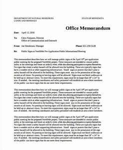 Examples Of Memorandum Free 17 Office Memo Examples Samples In Pdf Google
