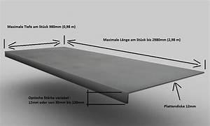 Arbeitsplatte Betonoptik Selber Machen : die h rteste beton optik k chenarbeitsplatte der welt ~ Michelbontemps.com Haus und Dekorationen