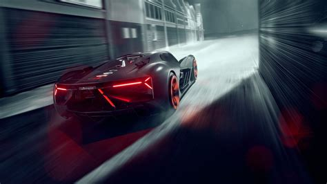 Car 5k Wallpaper by 2019 Lamborghini Terzo Millennio Rear 5k Wallpaper Hd