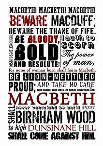 Macbeth – GCS... Macbeth Banquo Ambition Quotes