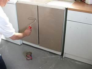 Peinture Pour Renover Les Meubles De Cuisine : repeindre ses meubles de cuisine galerie photos d ~ Premium-room.com Idées de Décoration