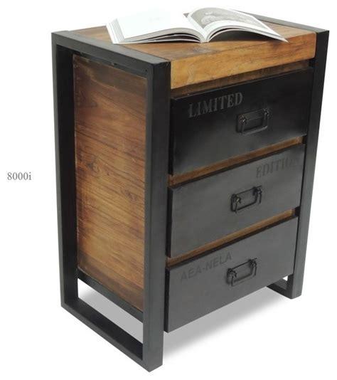 caisson de bureau en bois caisson de bureau industriel