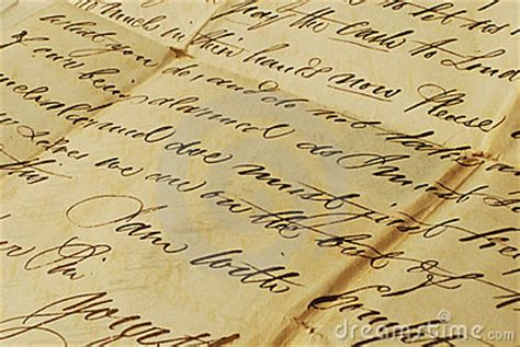 letter elegant handwriting royalty  stock image