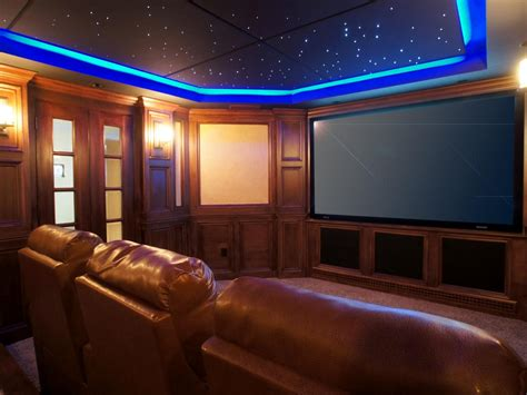 Basement Home Theaters and Media Rooms: Pictures Tips