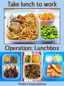 Even more lunch box ideas for work EasyLunchboxes