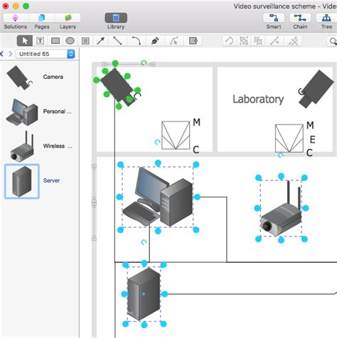create a cctv schematic diagram conceptdraw helpdesk