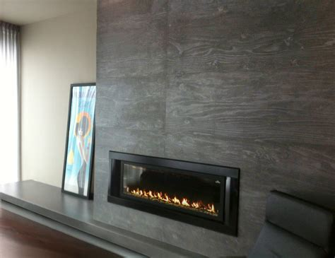 gas fireplace surround contemporary living room