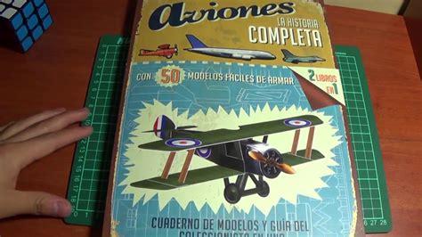 50 aviones para armar