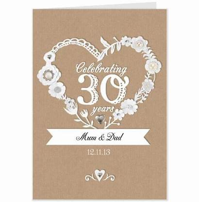 30th Anniversary Quotes Gifts Happy Wishes Cards