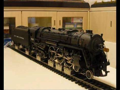 usa trains  scale hudson locomotive running test youtube