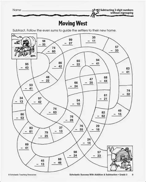 HD wallpapers 4 digit subtraction with regrouping worksheets 4th grade