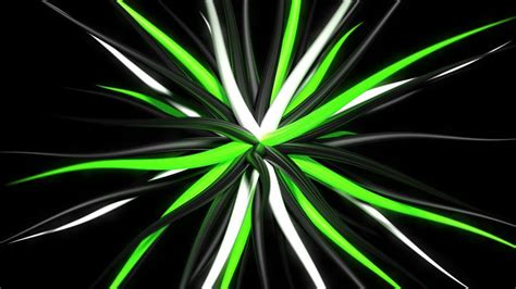 Green Black And White 3d Tentacles 4k Wallpapers