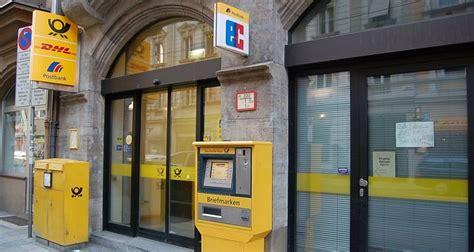 Deutsche Post, Thierschstr. Lehel, München - Post Willkommen
