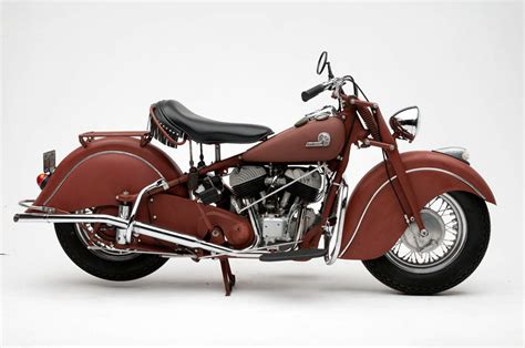 Indian Chief Modification by 1953 Indian Chief Motorcycle