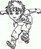 Coloring Go Diego Pages Jump Comments Coloringhome Welcome Popular sketch template