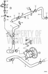 Volvo Penta Water Pump Diagram