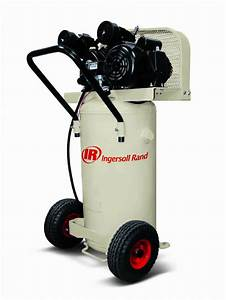 Ingersoll Rand 20 Gallon 2 Hp Air Compressor With Vertical