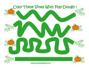 Playdough Mats Printable