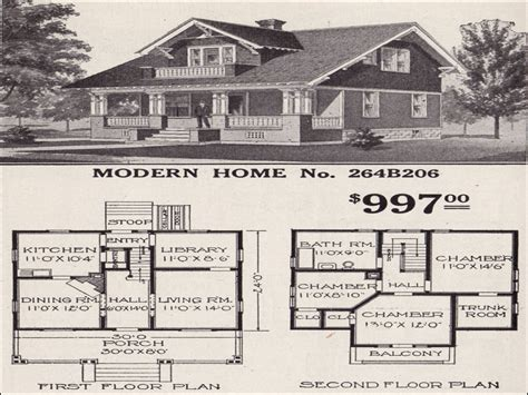sears bungalow  bedroom sears craftsman bungalow home plans catalog house treesranchcom
