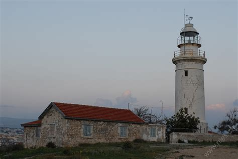 leuchtturm pafos  zypern die welt fotos niesch