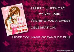 Happy Birthday Teenage Girl Quotes. QuotesGram