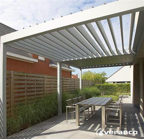 toiture pergolas a lames orientables pergola bioclimatique