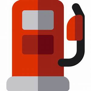 Gas station - Free buildings icons