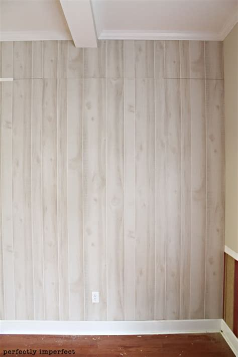 installing wood paneling on walls how to install faux wood paneling log wall perfectly imperfect and logs