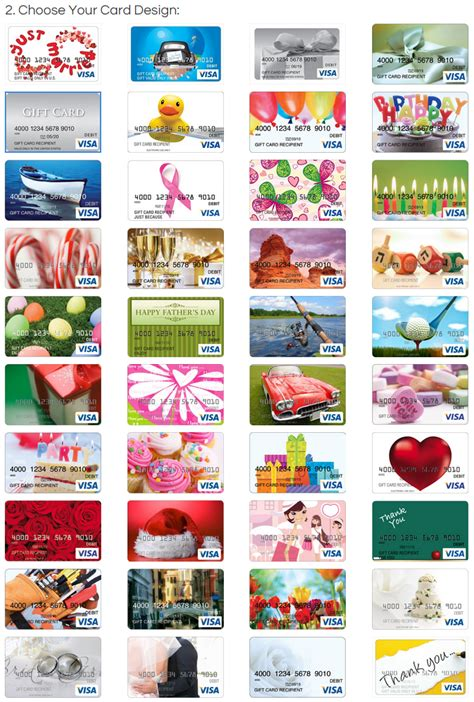 visa gift card designs travel  grant
