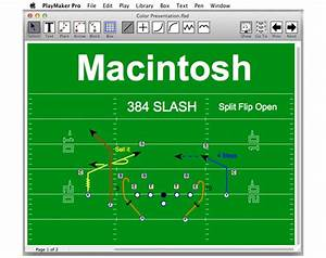 Playmaker Pro Football Playbook Software