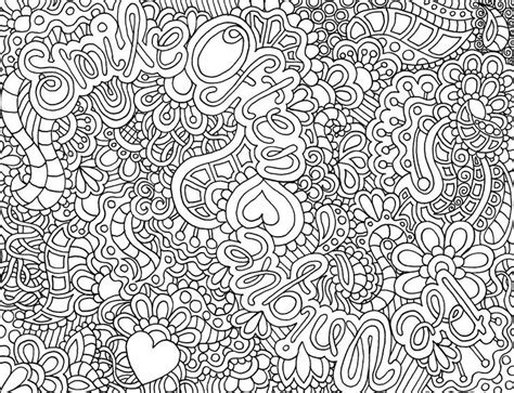 hard coloring pages difficult abstract coloring pages