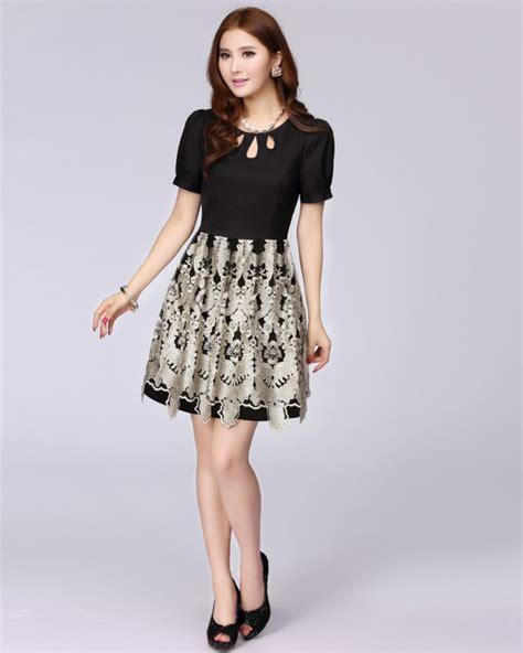model baju jaman  korean fashion dress